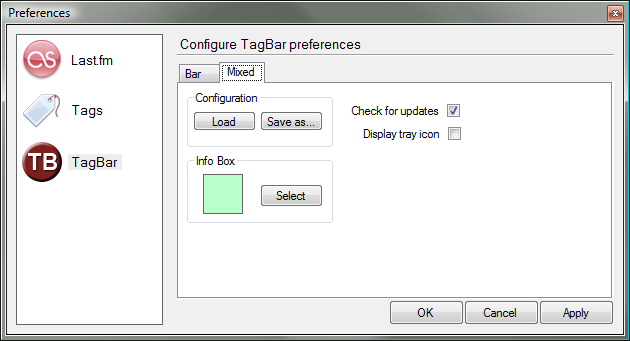 TagBar Preferences _mixed